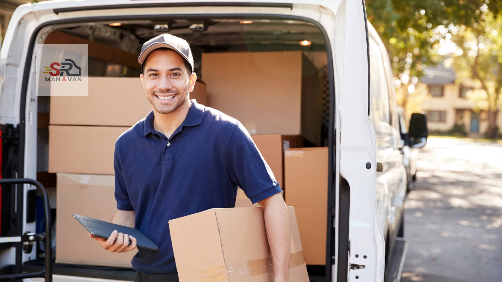 man and van courier service